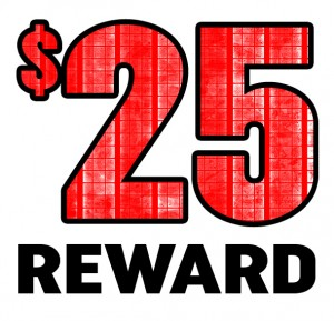 $25 Reward
