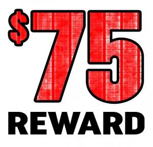 $75 Reward